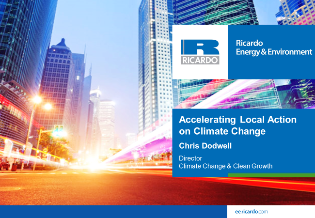 Accelerating Local Action on Climate Change